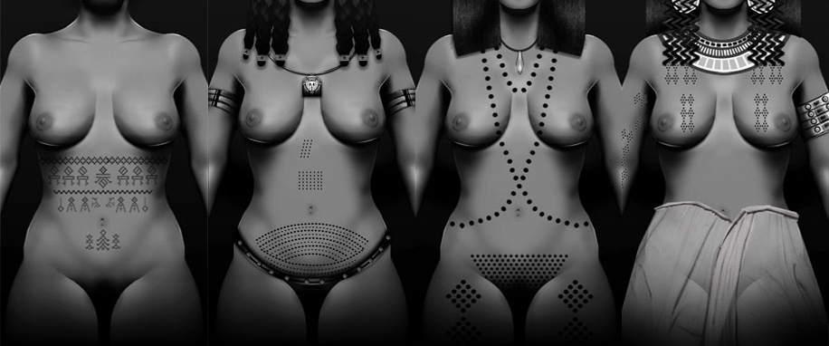 momias tatuadas